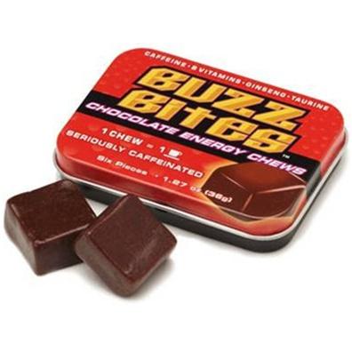Buzz Bites Chocolate Energy Chews